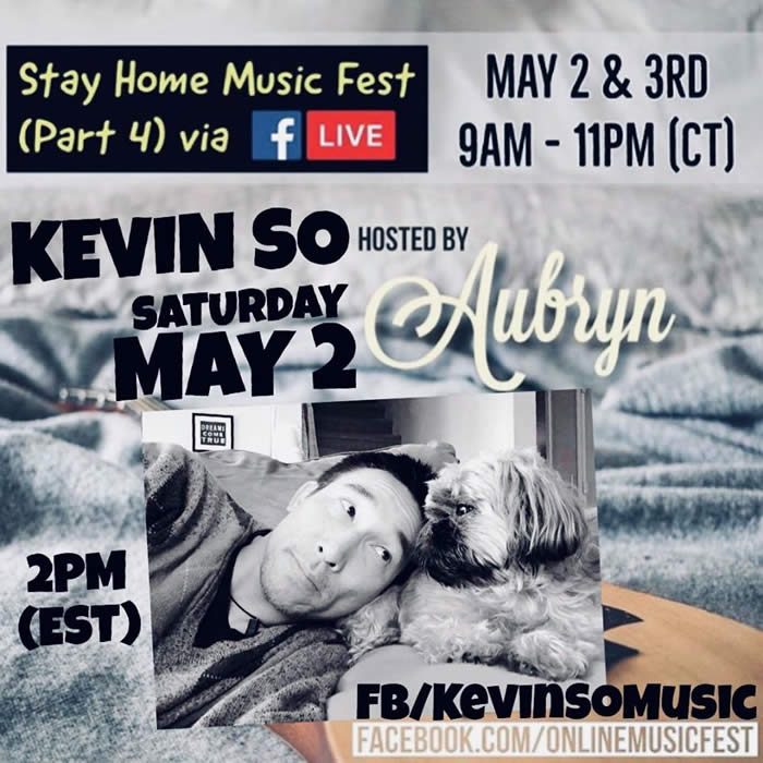 Kevin So Facebook Live May 2020